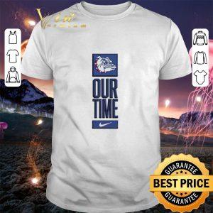 Cheap Gonzaga Bulldogs logo basketball Our Time 2020 shirt