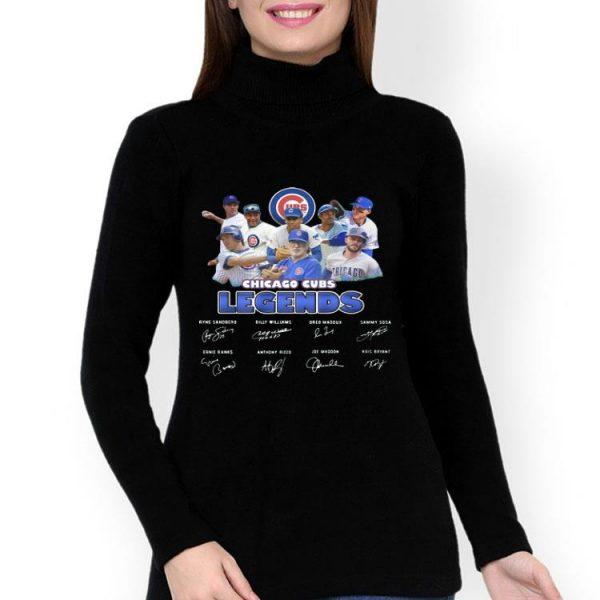 Chicago Cubs MLB Legends Signatures shirt