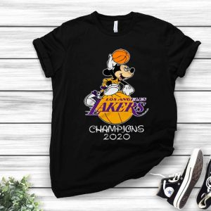 Disney Mickey Mouse Los Angeles Lakers Champions 2020 shirt