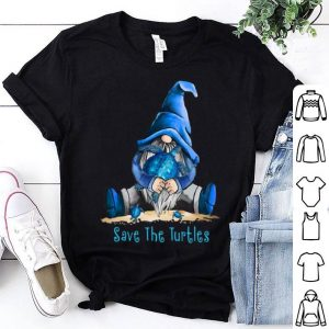 Gnome Save The Turtles shirt