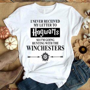 I Never Received My Letter To Hogwarts Supernatural shirt