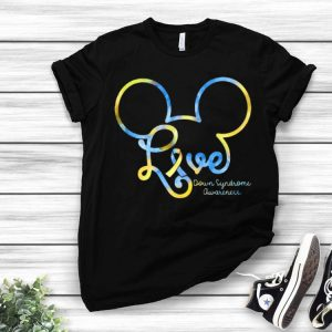 Mickey Mouse Love Down Syndrome Awareness shirt