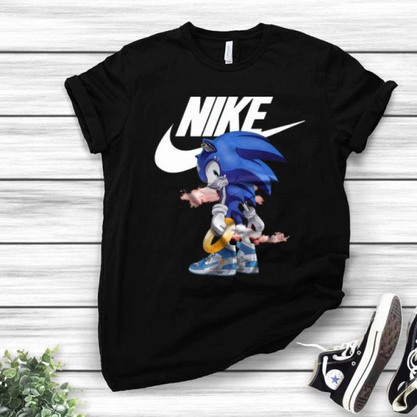 Nike Air Sonic The Hedgehog shirt