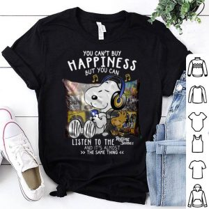 Snoopy You Can't Buy Happiness But You Can Listen To Rolling Stones shirt