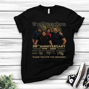 The Breeders 30th Anniversary Thank You For The Memories Signatures shirt