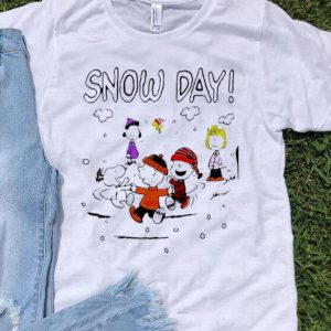 The Peanuts Snoopy Charlie Brown Snow Day shirt