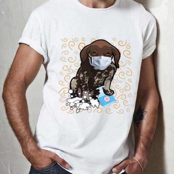 Dachshund Mask Wash Your Hands Survived Coronavirus shirt