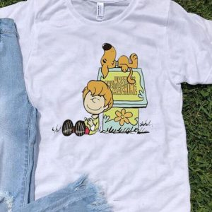 Scooby Doo Charlie Brown Snoopy's House shirt
