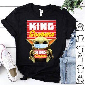 Star Wars Baby Yoda Mask Hug King Soopers Covid-19 shirt