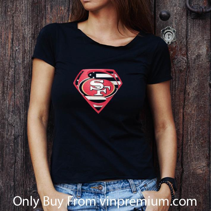 Nice Superman San Francisco 49ers shirt