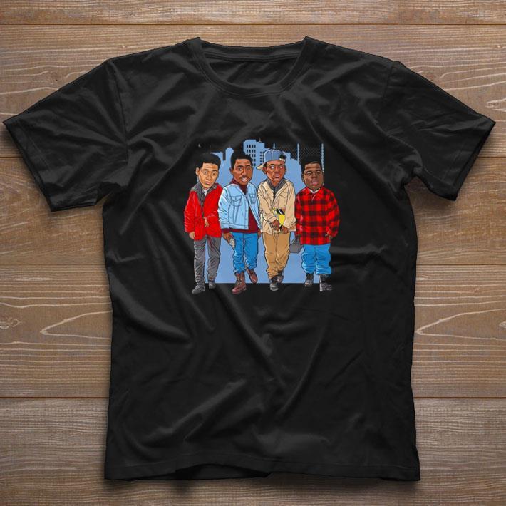 Awesome Tupac cartoon Juice 90s movie shirt