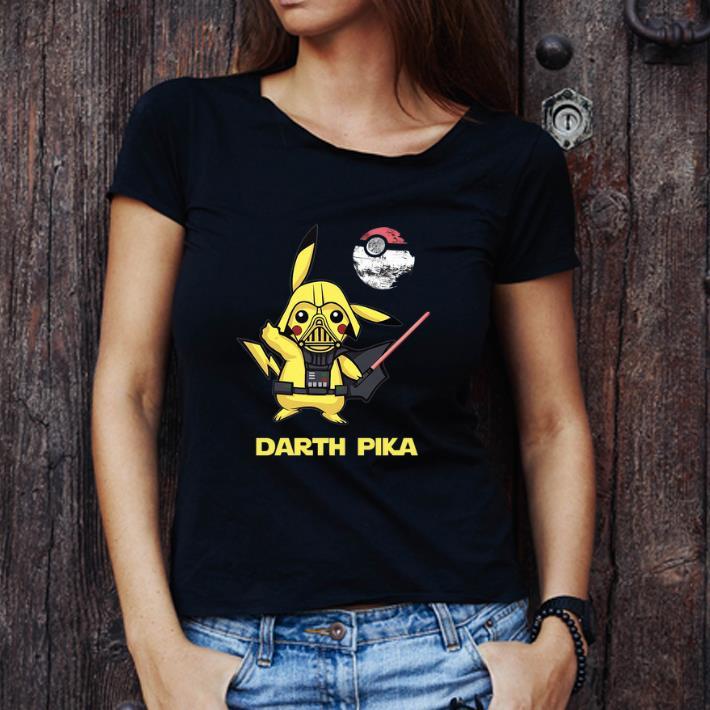 Awesome Pikachu Darth Pika Death Star Wars Darth Vader shirt