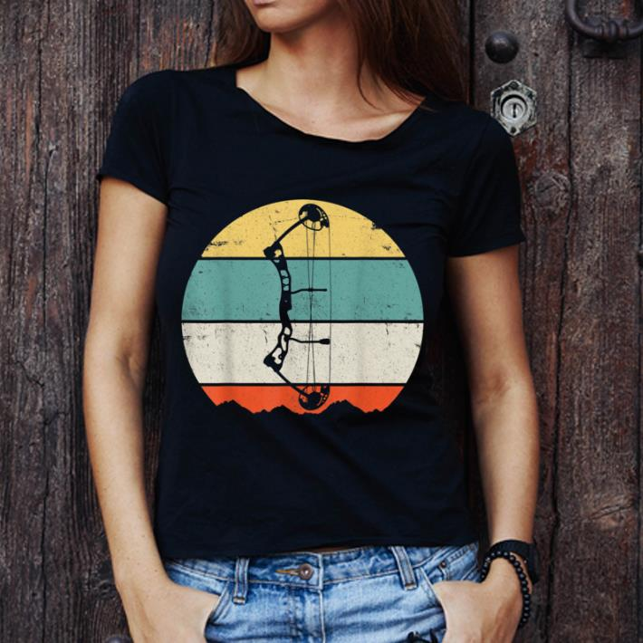 Awesome Archery Bow Hunting Vintage Retro shirt