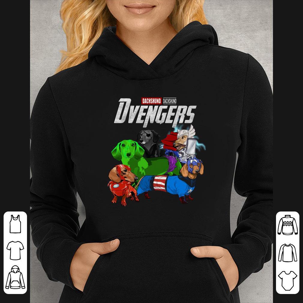 Dachshund Dvengers Marvel Avengers Endgame shirt 4 - Dachshund Dvengers Marvel Avengers Endgame shirt