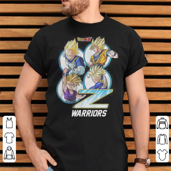 Dragon Ball Z Warriors Boys Black shirt