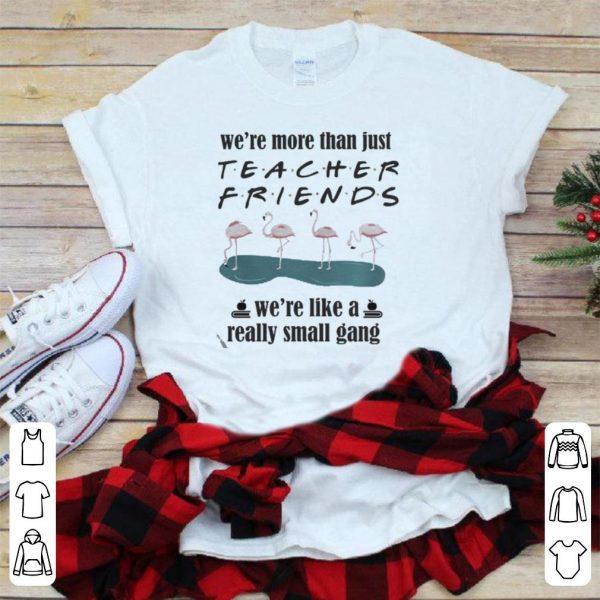 Flamingo – We're More Than Just Teacher Friends shirt