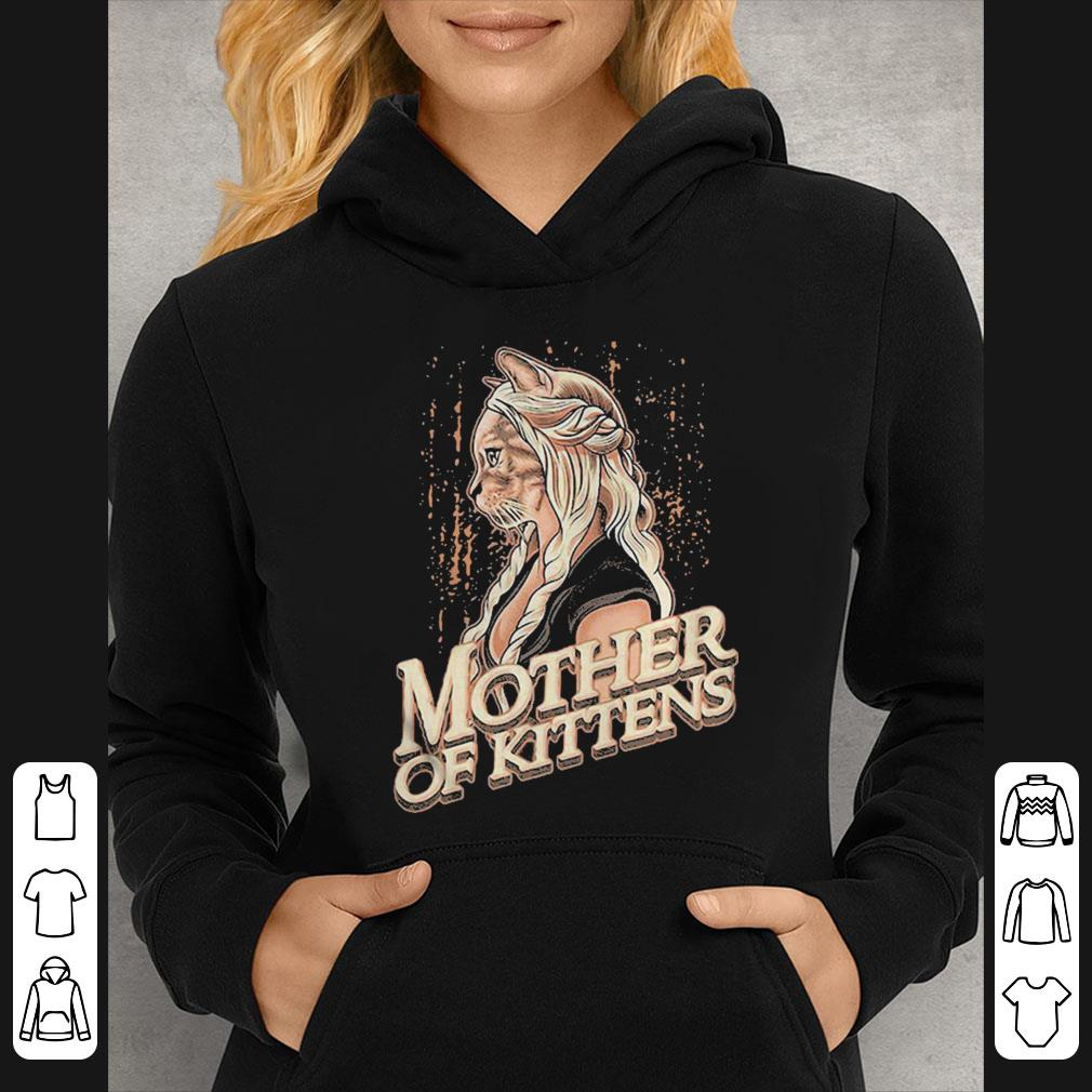 Game of Thrones mother of kittens cat shirt 4 - Game of Thrones mother of kittens cat shirt