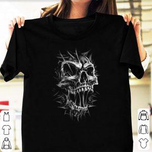 Grim reaper skull shirt