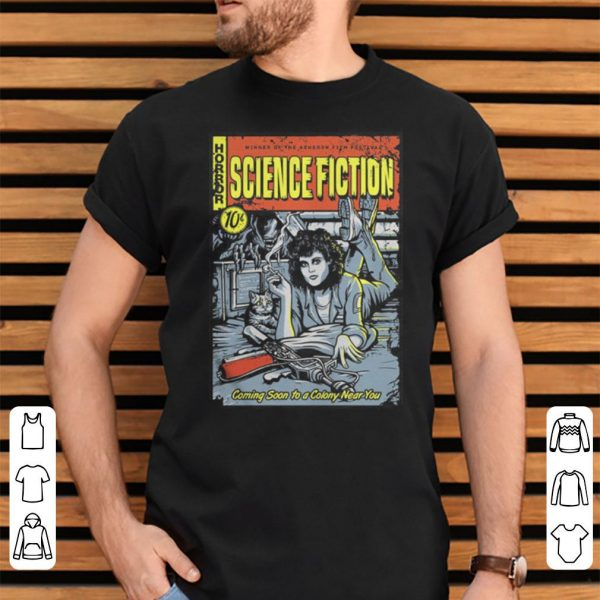 Horror winner of the Acheron science fiction 10c shirt