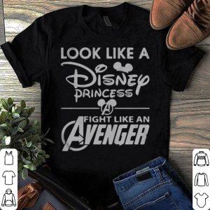 Look like a Disney princess fight like an Avenger Endgame shirt