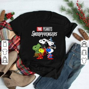 Marvel Avengers Endgame the peanuts snoopy Avengers shirt