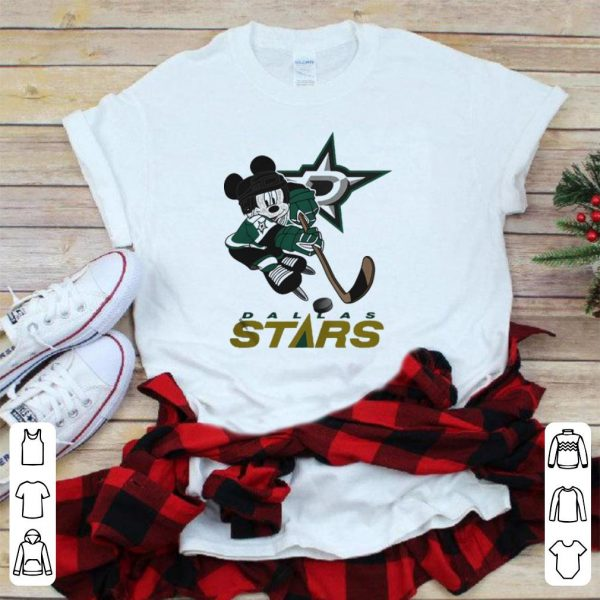 Mickey Fanatics Branded Disney play hockey dallas stars shirt