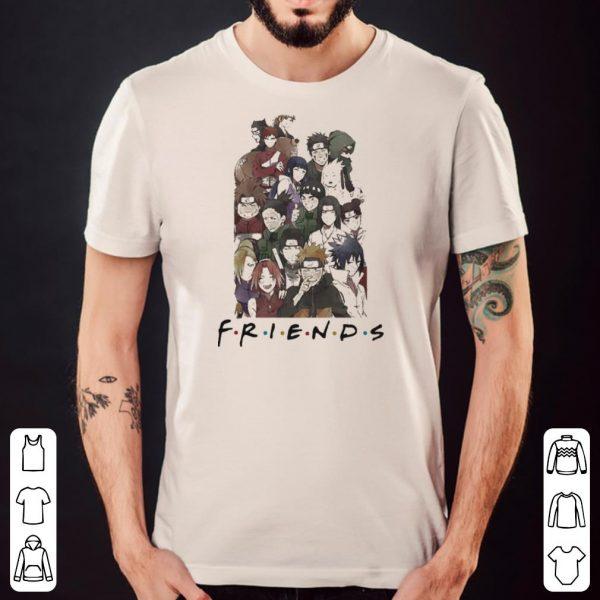 Naruto Anime F.R.I.E.N.D.S together shirt