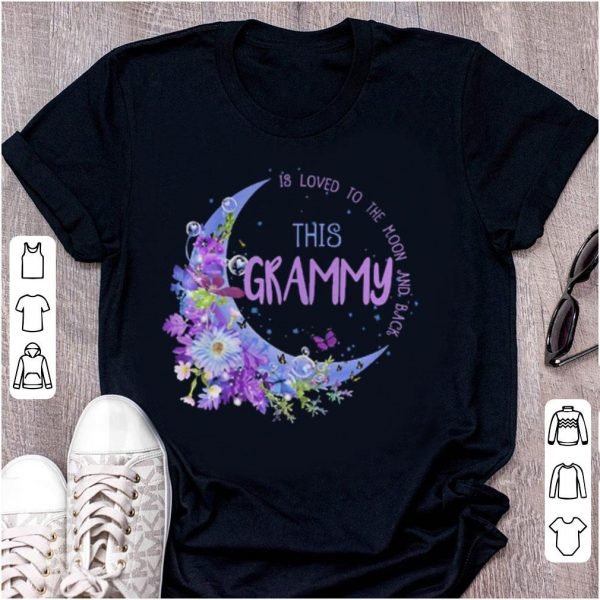 This grammy is loved to the moon and back shirt