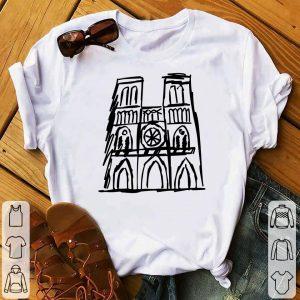 Vintage Notre Dame Cathedral shirt