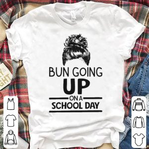 Bun going up on a school day girl shirt