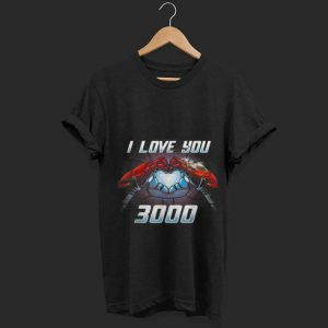 Father day Marvel I love you three thousand Iron man End Game Infinity Stone shirt