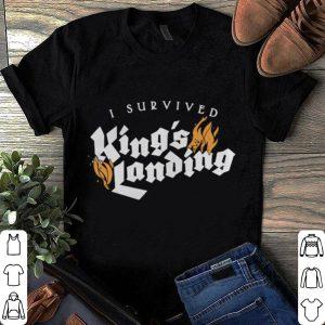 I survived King's landing shirt