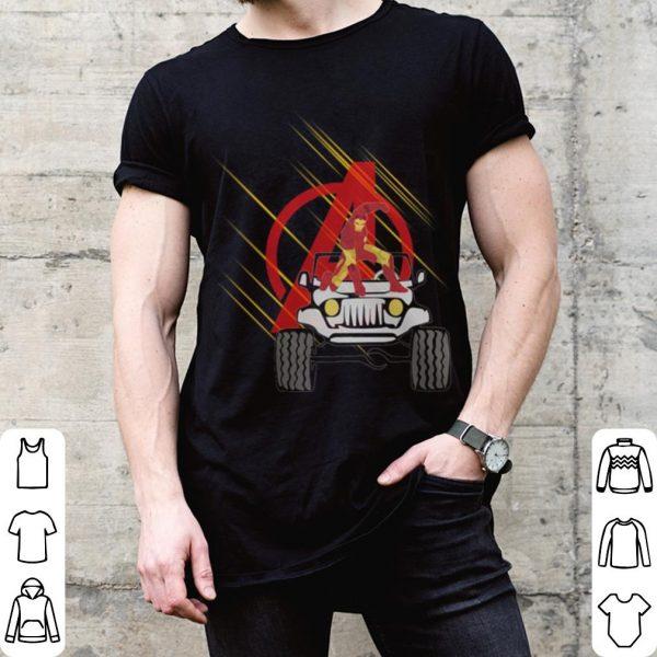 Iron man Marvel Avengers Jeep shirt