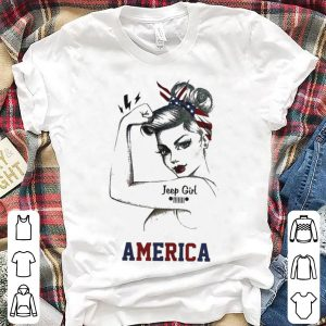 Jeep Girl America shirt