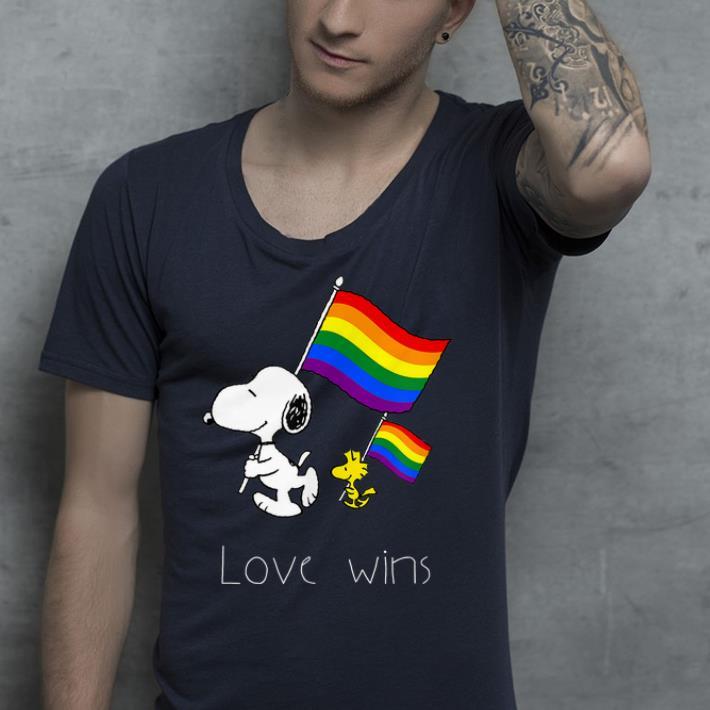 Love Wins Cute Dog LBGT Flag shirt 4 - Love Wins Cute Dog LBGT Flag shirt