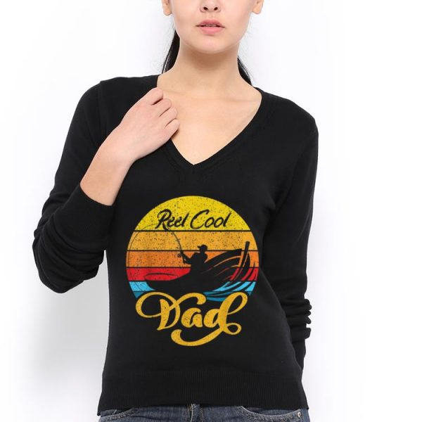 Reel Cool Dad Fishing Fathers Day shirt