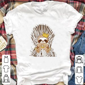 Sloth king Game of Thrones shirt