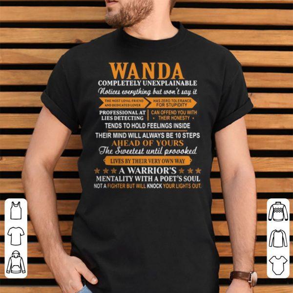 Wanda completely unexplainable shirt