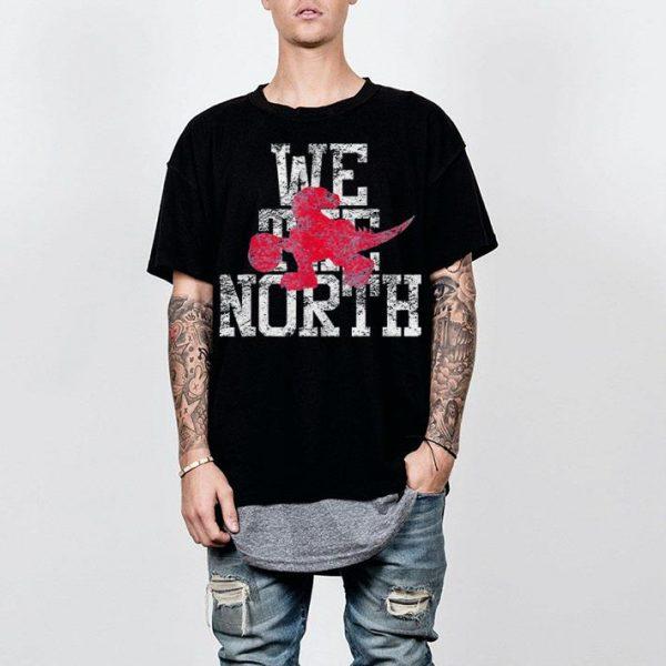 We The North Toronto Raptors Dinosaur Raptors shirt
