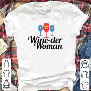 Wine-der woman shirt