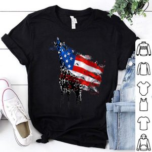 4th Of July Independences Day Girffes shirt