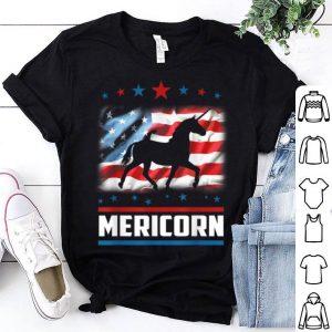 4th Of July Mericorn American Flag Unicorn shirt