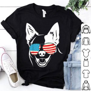 4th Of July Patriotic German Shepard Dog Tee Shirt