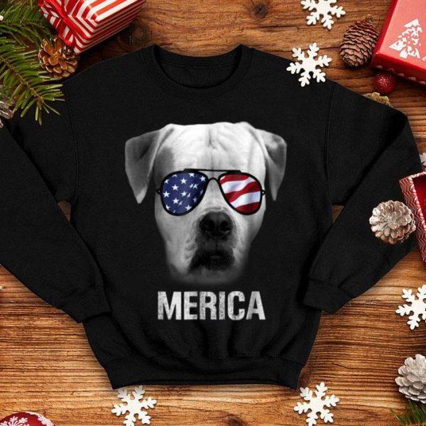 American Bulldog Merica - Patriot Patriotic shirt