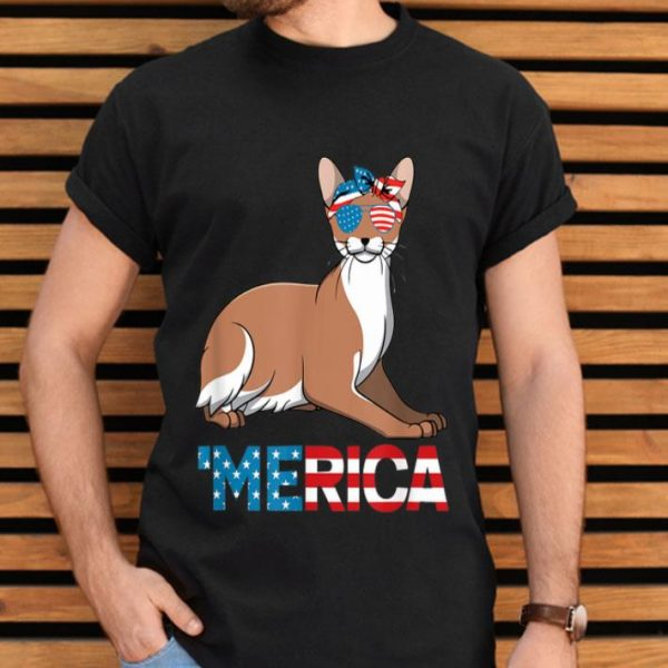 American Flag Javanese Cat 4th Of July Cats Gift Shirt