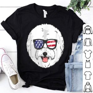 Bichon Frise Dog Patriotic Usa 4th Of July American shirt