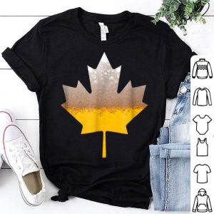 Canada Flag - Craft Beer Brewmaster Drinking Canada Beer Day shirt