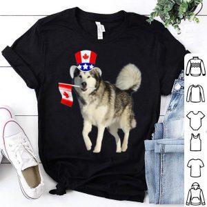 Canada - Maple Leaf Husky Canadian Flags Shirt