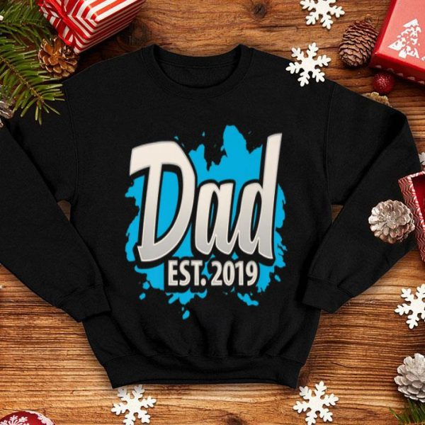 Dad Est2019 Dad Fathers Day shirt