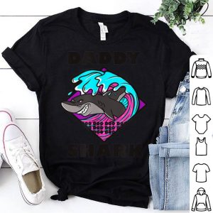 Dad Shark Fathers Day Gift Shirt